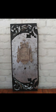 Victorian Antique Gothic Roman Catholic church tabernacle communion door panel