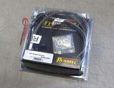 Russell Steel Braided Brake Lines 1996-2000 Honda Civic CX DX HX - 684610