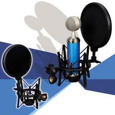 Audio Professionnel micro condensateur Studio Sound Recording W/ Shock Mount