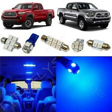 9x Blue LED Interior Lights Package Kit for 2016-2017 Toyota Tacoma TT5B