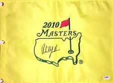 PHIL MICKELSON AUTOGRAPHED SIGNED 2010 MASTERS AUGUSTA NATIONAL PSA/DNA FLAG