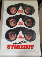 Vintage 1 sheet 27x41 Movie Poster Another Stakeout Richard Dreyfuss 1993
