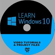 WINDOWS 10 STEP BY STEP PROFESSIONAL TUITION VIDEO TRAINING SYSTEM NEW PCDVD