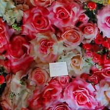 10' x 10' Rose Floral Photo Backdrop- Fabric