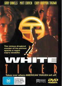 White Tiger DVD - 1996 - Gary Daniels Movie