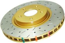 DBA  Rear Drilled & Slotted 4000 Series Rotors for 00-05 Honda S2000 s2k