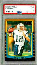2000 Bowman Tom Brady PSA 5 RC