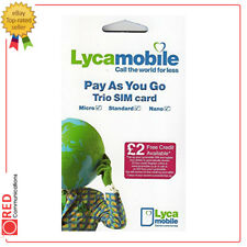 Lycamobile Pay As You Go / Call The World For Less