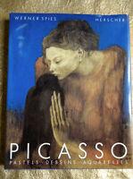 PICASSO, pastels, dessins, aquarelles HERSCHER 1986