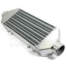 "12""x6.25""x2.5"" Universal Turbo Car Front Mount Bar & Plate Intercooler Aluminum"