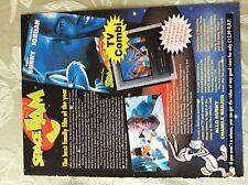 m17a8 ephemera 1990s advert space jam bugs bunny michael jordan