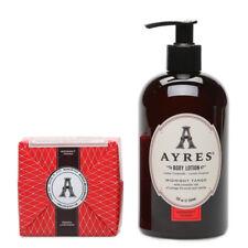AYRES Body Lotion & Bar Soap Bundle - Midnight Tango GIFT SET FOR MEN