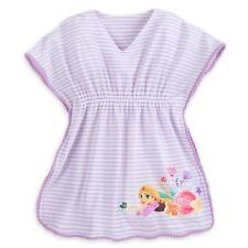 99ea74ca00 Disney Store Princess Tangled Rapunzel Swimsuit Cover Up Girl Size 5/6