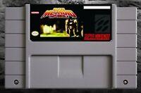 Super Metroid Impossible (ROM hack) SNES Super Nintendo action video game cart