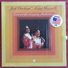 JUDY GARLAND   LIZA MINNELLI  LP ORIG US   LIVE AT THE LONDON PALLADIUM