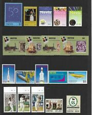 NEVIS ,nice page of sets/issues , all MINT NH