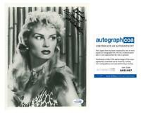 "Irish McCalla ""Sheena: Queen of the Jungle"" AUTOGRAPH Signed 8x10 Photo ACOA"