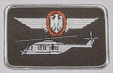Écusson patch namemsschild nh90 militaire Aéronef dirigeants pilote... a3522