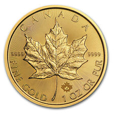 2017 Canada 1 oz Gold Maple Leaf Brilliant Uncirculated Coin - SKU #102768