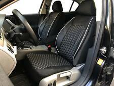 Sitzbezüge Schonbezüge für Seat Leon schwarz-weiss V1522887 Vordersitze