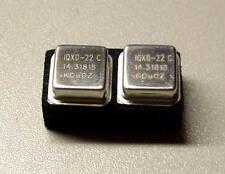 2 Stück IQXO-22C 14.31818 MHz Metal Oscillator Quarz Crystal Xtal (M8730)