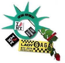 LADY GAGA ROSELAND BALLROOM NEW YORK ACCESSORIES 6 PC GIFT SET MUSIC MERCH