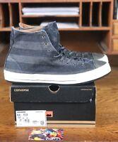 Converse Chuck Taylor All Star Premium Post Black/White Mens Shoe 139906C Sz 9.5