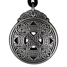 Small Rune Love Amulet Pewter Celtic Knot pendant jewelry talisman
