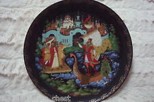 """Russian Leyends Collector Plate """"Sadko"""" with certs, no original box, signed"""