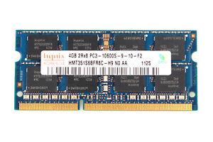Hynix PC3 1333 10600 Laptop Memory 8GB 4GB 2GB 1GB PC2 DDR2 DDR3 SODIMM RAM Lot