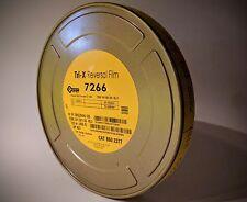 Kodak 16mm Tri-X B&W Reversal Movie Film 7266 400' 160T/200D 1R Roll Brand New
