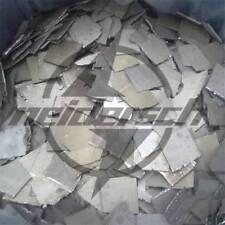 50 grams Co Metal Sheet High Purity 99.8% Electrolytic Cobalt
