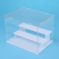 Clear Acrylic Display Case Box for Action Figure Model Doll Toys 21x15x16cm