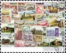 More details for castles & chateaux : 200 different stamps collection