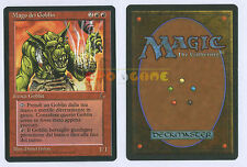 MTG MAGIC Mago dei Goblin - Goblin Wizard - Italiana L'Oscurità The Dark - 1995