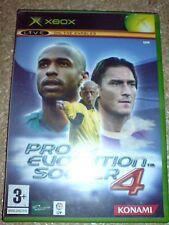 Pro Evolution Soccer 4 (XBOX) Usado