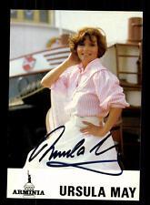 Ursula May Autogrammkarte Original Signiert ## BC 92140