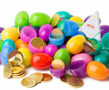48 Milk chocolate coin filled Easter eggs. Surprise egg great for Easter hunt!
