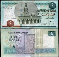 EGYPT 5 POUNDS 2008 P 63 UNC