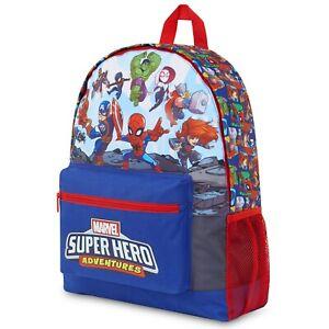 Marvel Avengers Kids Backpack, Boys Rucksack For School, Travel, Sports