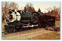 POSTCARD Long Island 35 Nassau County Eisenhower Park NY New York Railroad Train