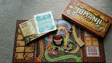 1995 RARE Jumanji Board Game 100% COMPLETE BY Milton Bradley - All Pieces!
