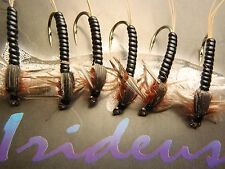 Irideus Hellgrammite Big Hair  Nymph Flies Fly Fishing Flies Trout Flies