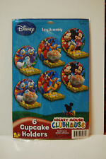 (6) MICKEY MOUSE CLUBHOUSE CUPCAKE HOLDERS-BUY ONE GET ONE FREE