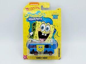 2019 Hot Wheels HW Sponge Bob #1/6 20th Anniversary Combat Medic. Must L@@K.