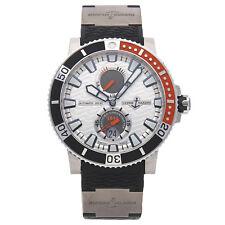 Ulysse Nardin Maxi Marine Diver Titanium Automatic Mens Watch Strap 263-90-3/91