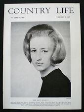 SALLY ELLIOTT / JEREMY TOWNSEND PROFESSOR FRANK ABERCROMBIE PHOTO ARTICLE 1967