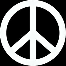 Peace Sign Vinyl Decal Sticker Car Window Laptop Marjuana Bong Grateful Dead