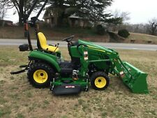 New listing  2018 John Deere 1023E 4X4 Loader Mower Tractor with Only 1 Hour