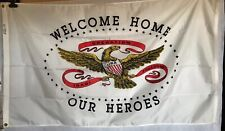 Annin Welcome Home Our Heroes Iraqi Freedom Military Flag 3' x 5' Nylon Nyl-Glo
